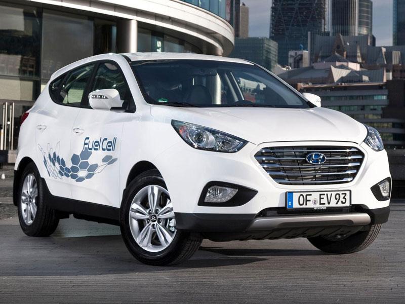 Водородный Hyundai ix35 проехал без дозаправки  700 километров