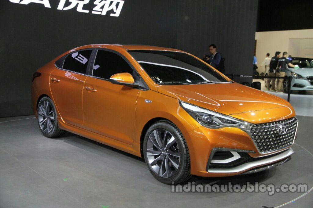 Hyundai показала предвестника нового Accent