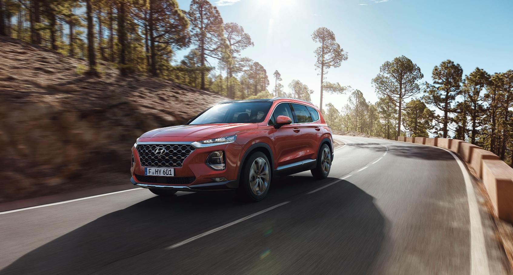 Раскрыты подробности европейской версии Hyundai Santa Fe нового поколения