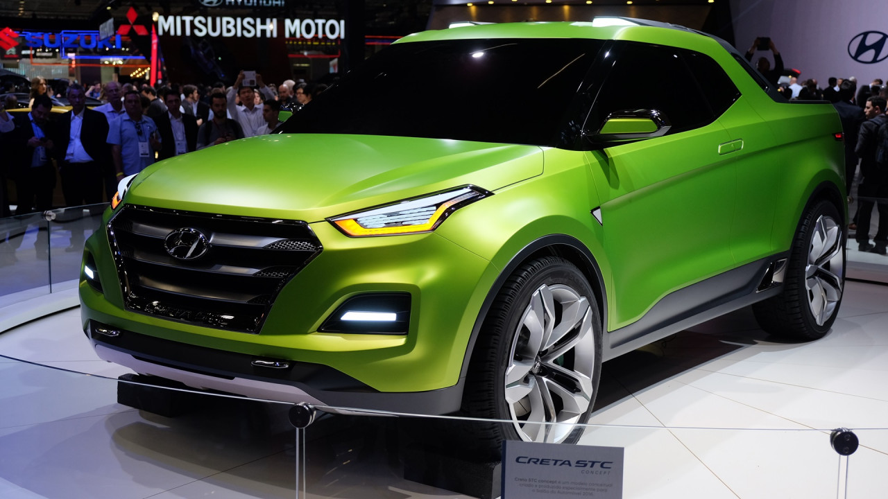 Компания Hyundai превратила кроссовер Creta в пикап