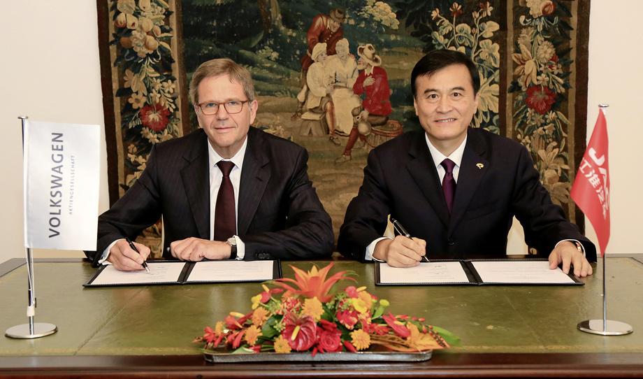 Фольксваген хочет производить электрокары в КНР
