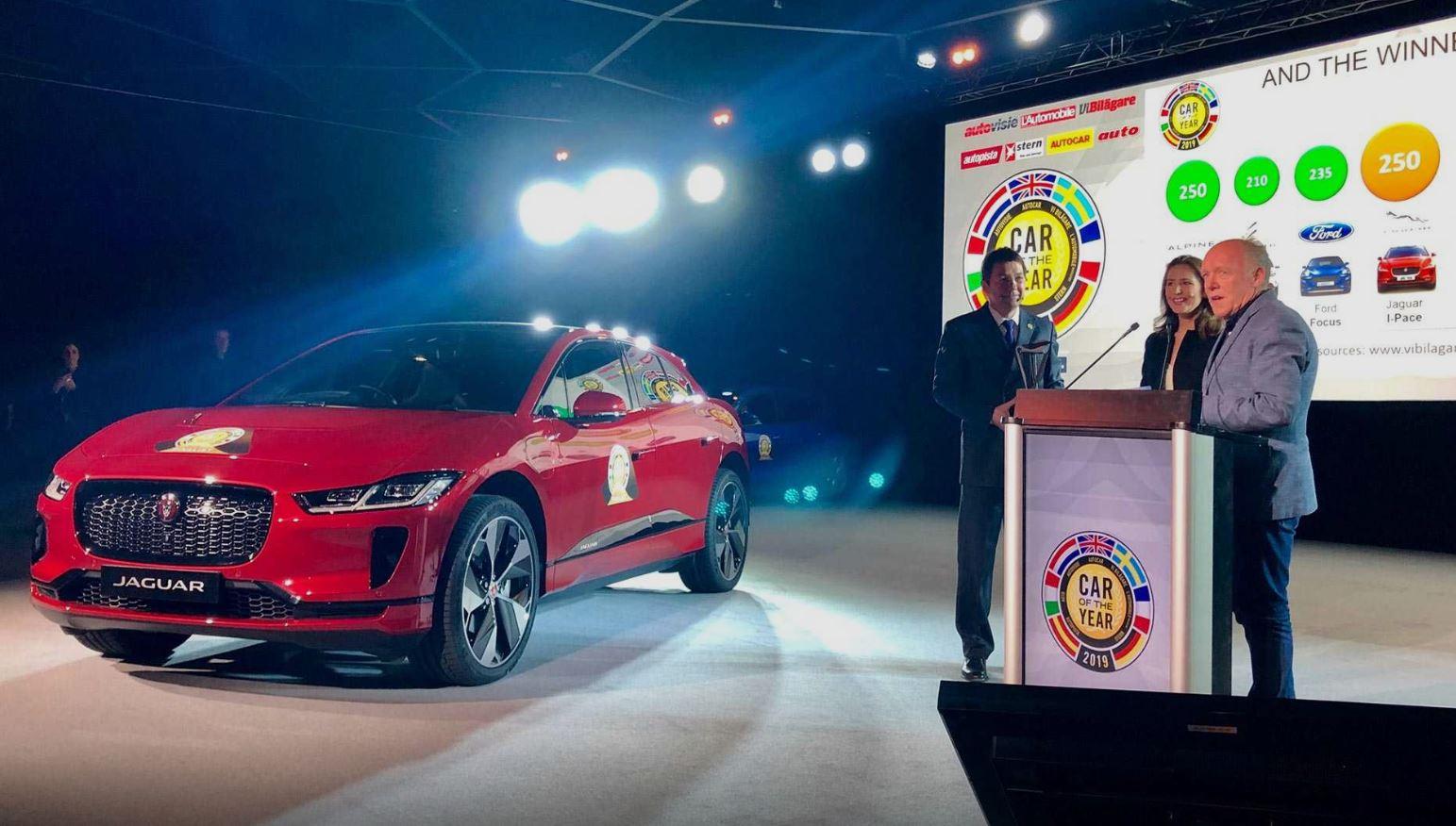 Jaguar I-Pace — европейский автомобиль 2019 года