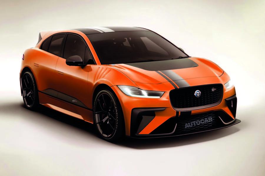 Появление «заряженной» версии Jaguar I-Pace под вопросом