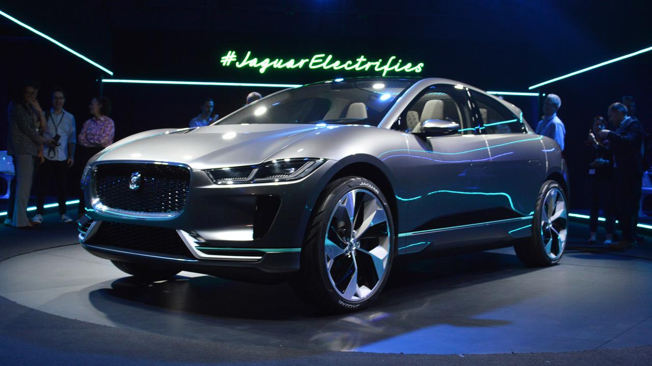 Jaguar представил электрический кроссовер I-Pace