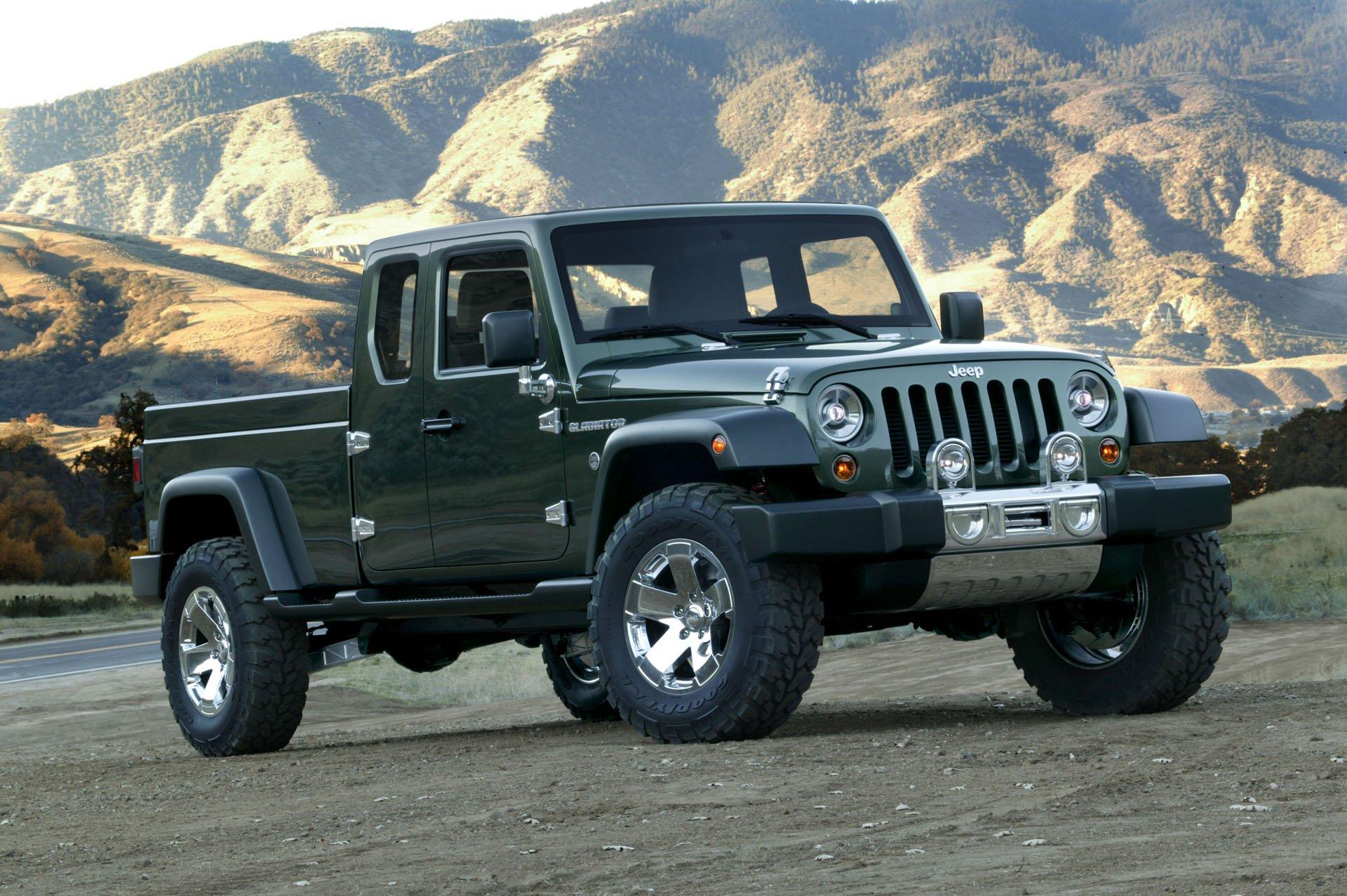 Новый пикап Jeep выпустят под именем Gladiator