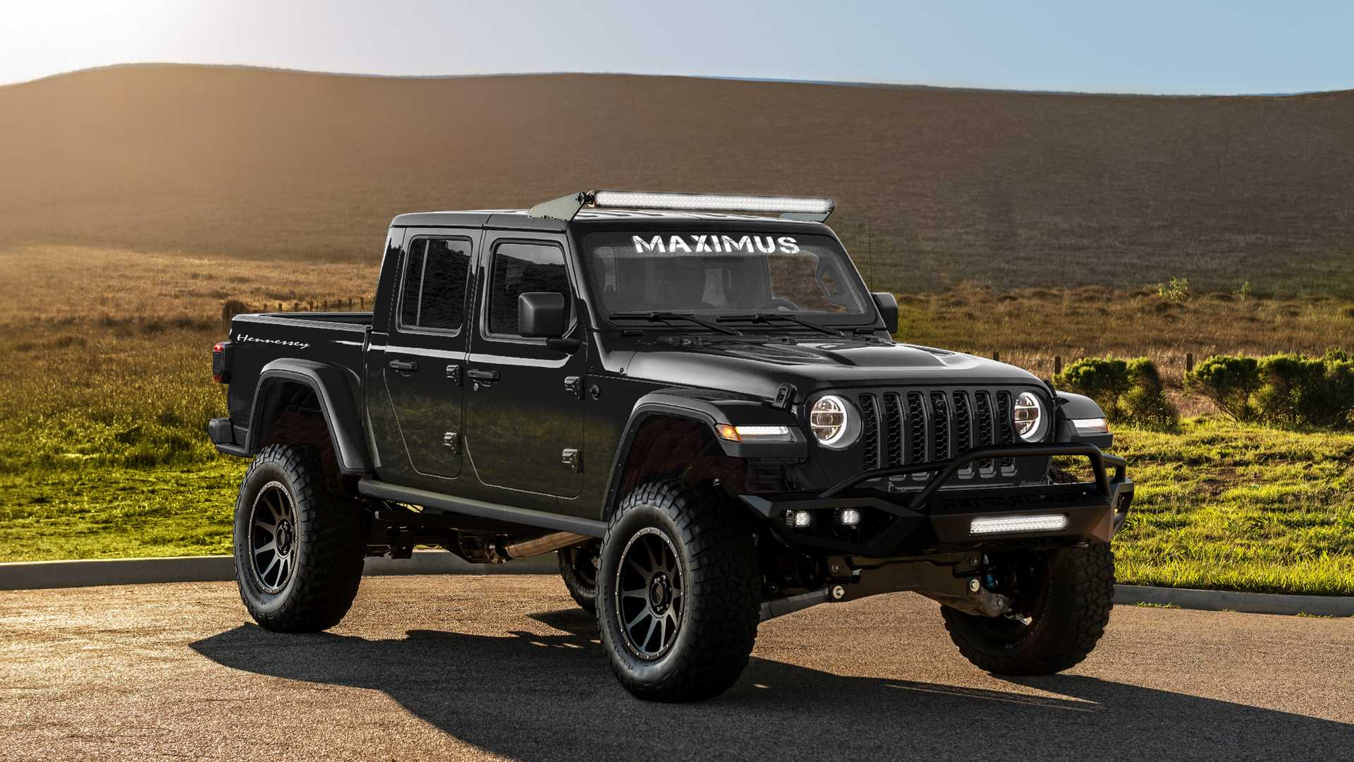 Тюнеры из Hennessey Performance доработали Jeep Gladiator