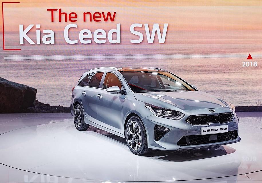Женева 2018: Kia Ceed Sportswagon похвастался вместительным багажником