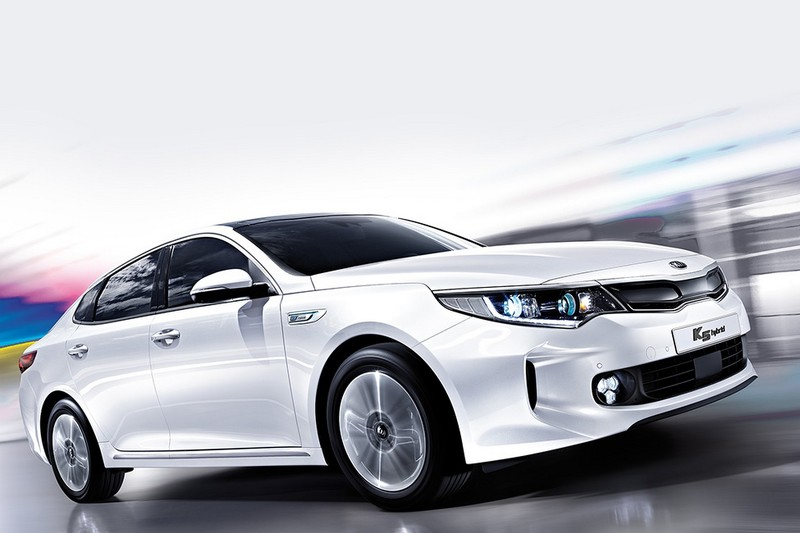 Kia представила новый Optima Hybrid с «жабрами»