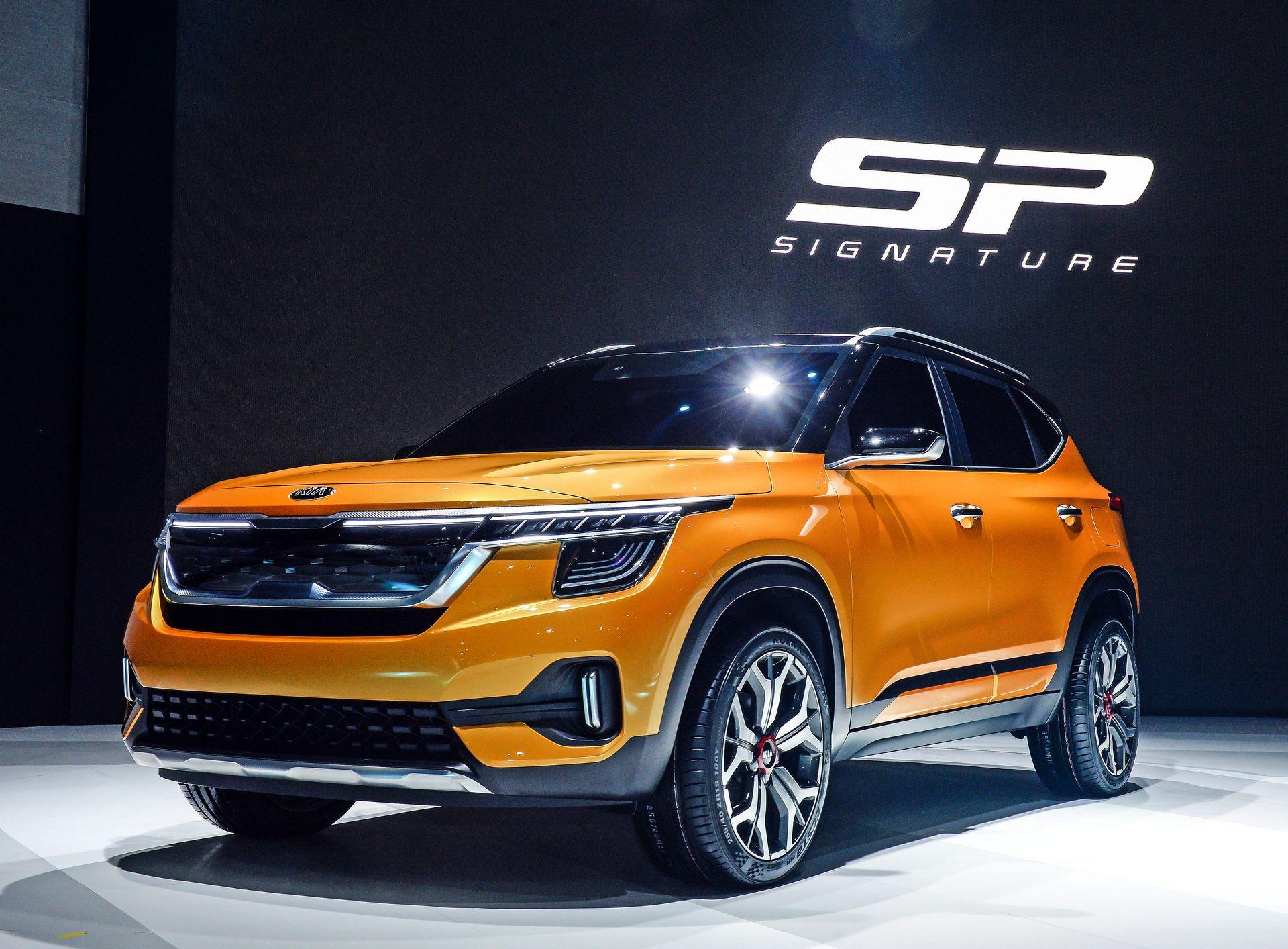 Kia SP Signature: будущий глобальный кроссовер марки