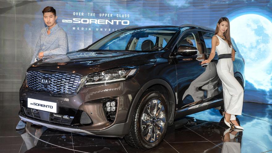 Kia представила обновленный Sorento для корейского рынка