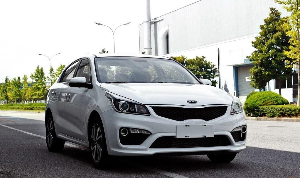Новый седан Kia K2/Rio рассекретили в Китае