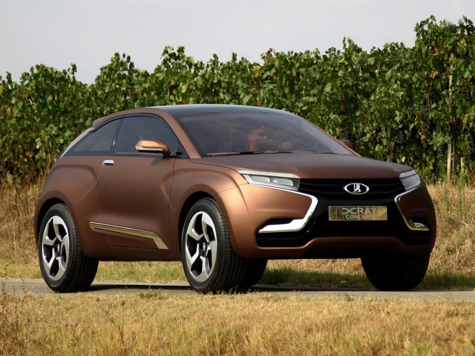 АвтоВАЗ разработал новый концепт «Икс»