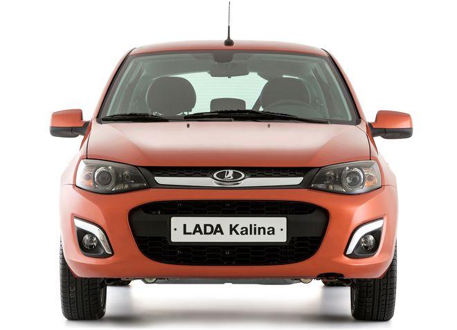 Новая Lada Kalina 2 — экстерьер, фото 2