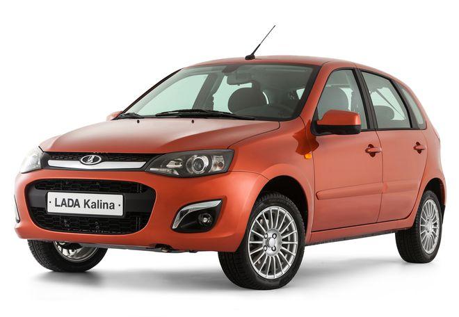 Новая Lada Kalina 2 (универсал) — экстерьер, фото 2