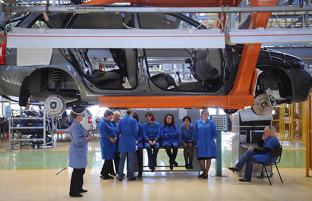 «АвтоВАЗ» уволит более 10% персонала