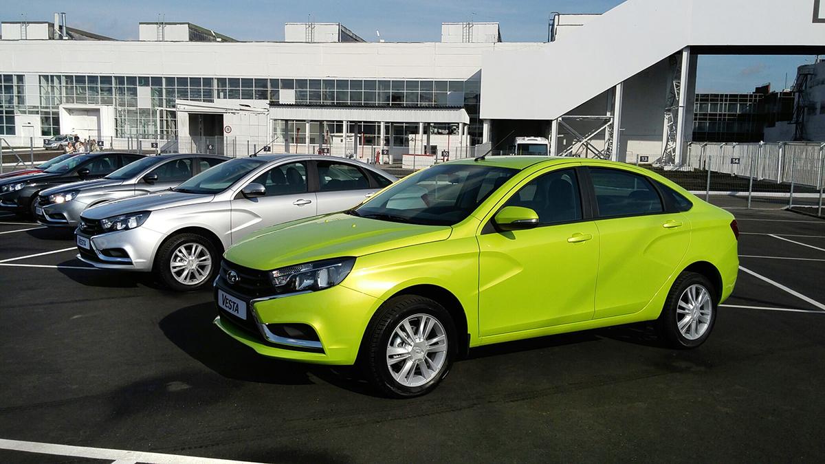 Стартовало серийное производство Lada Vesta седан