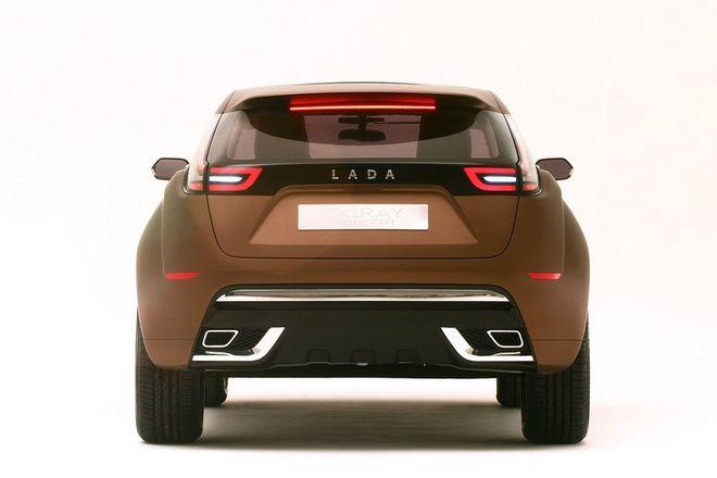 Lada XRAY — экстерьер, фото 7