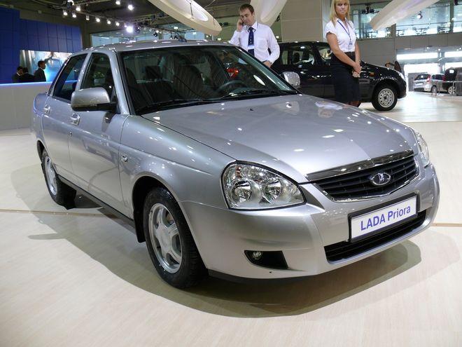 Lada Priora получит материалы «софт-лук»