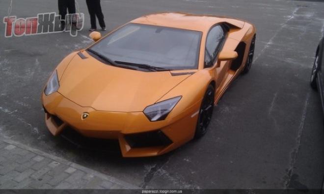 Lamborghini Aventador в Киеве