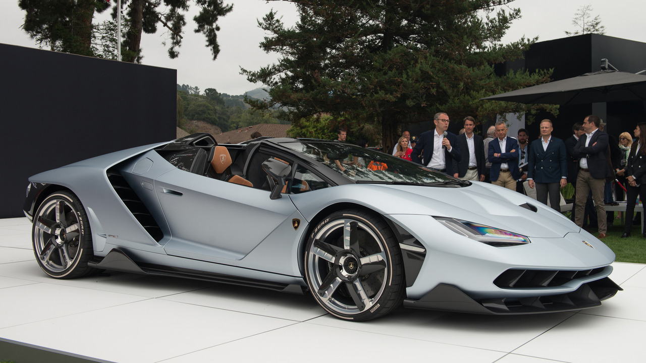 Все родстеры Lamborghini Centenario распродали до премьеры