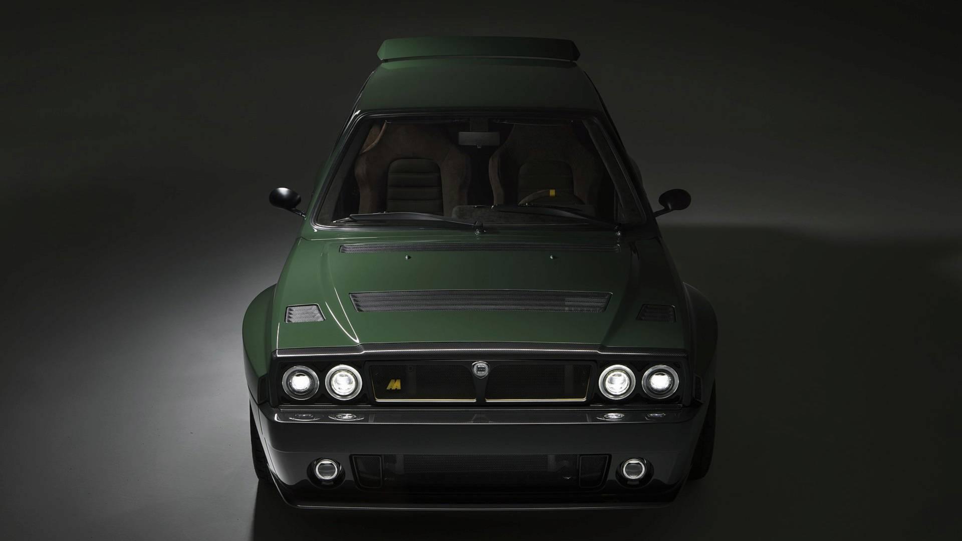 Рестомод Lancia Delta Futurista оценили в 300 тысяч евро