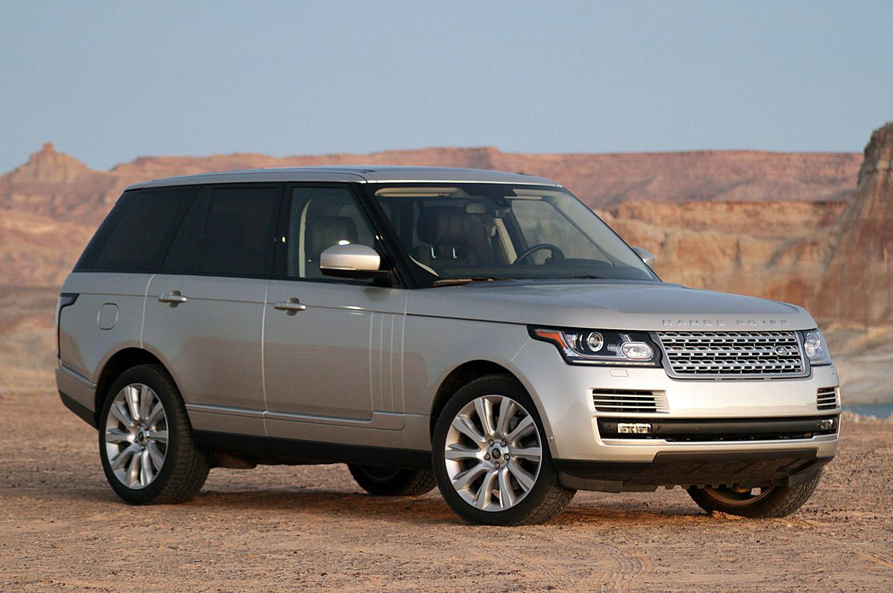 Новый Range Rover получит 3-литровый бензиновый мотор