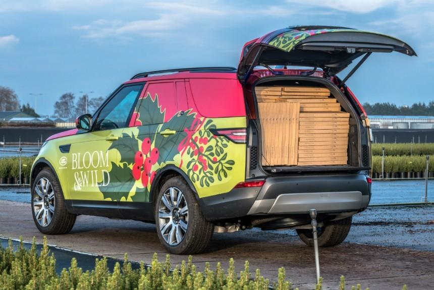 Представлен новый вседорожный автомобиль Ленд-Ровер Discovery Commercial