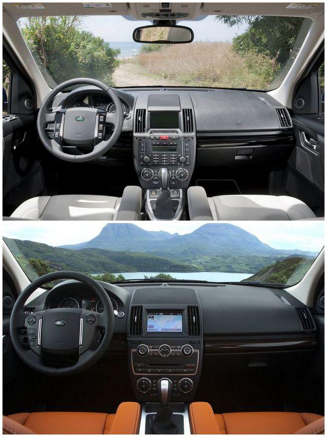 Салон Land Rover Freelander 2 2011 и 2013 модельного года