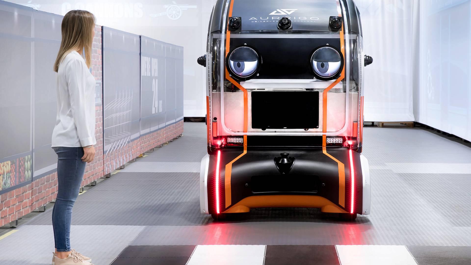 Jaguar Land Rover построила «глазастый» беспилотник
