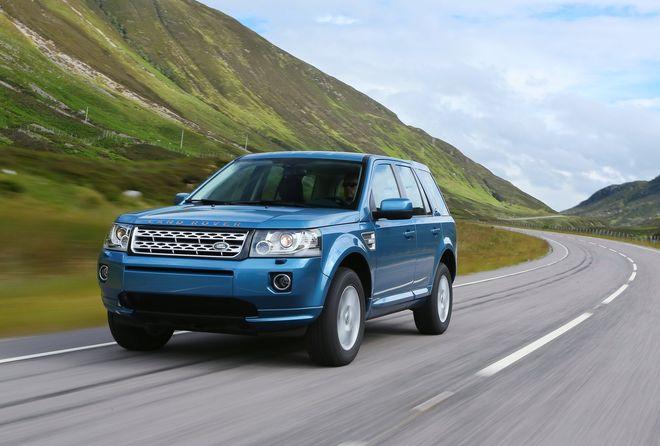 Land Rover Freelander 2 2013 — экстерьер