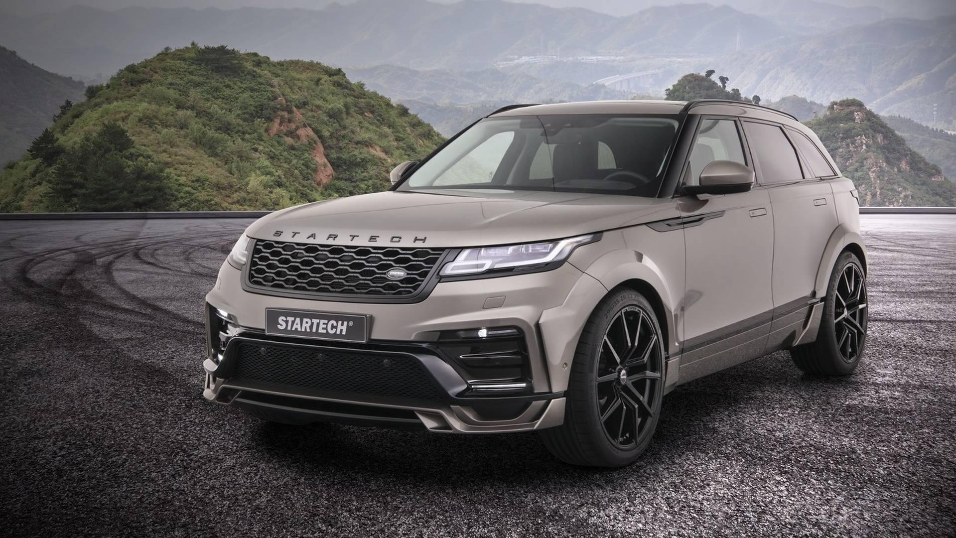 Немецкие тюнеры подготовили Range Rover Velar к дебюту в Женеве