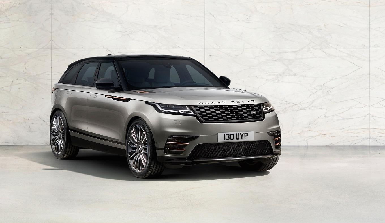 Range Rover Velar представлен в Украине
