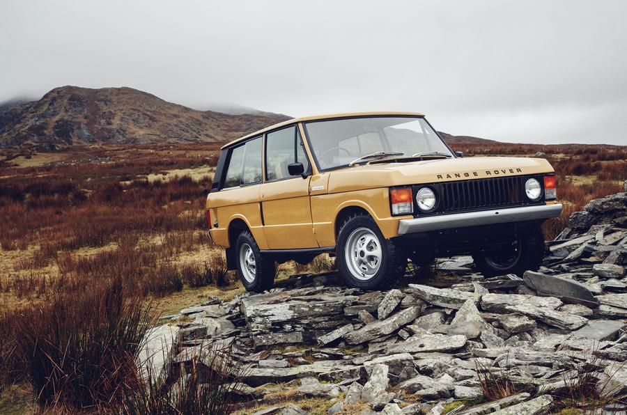 Мировая премьера восстановленного Range Rover Classic— Заново рождённый