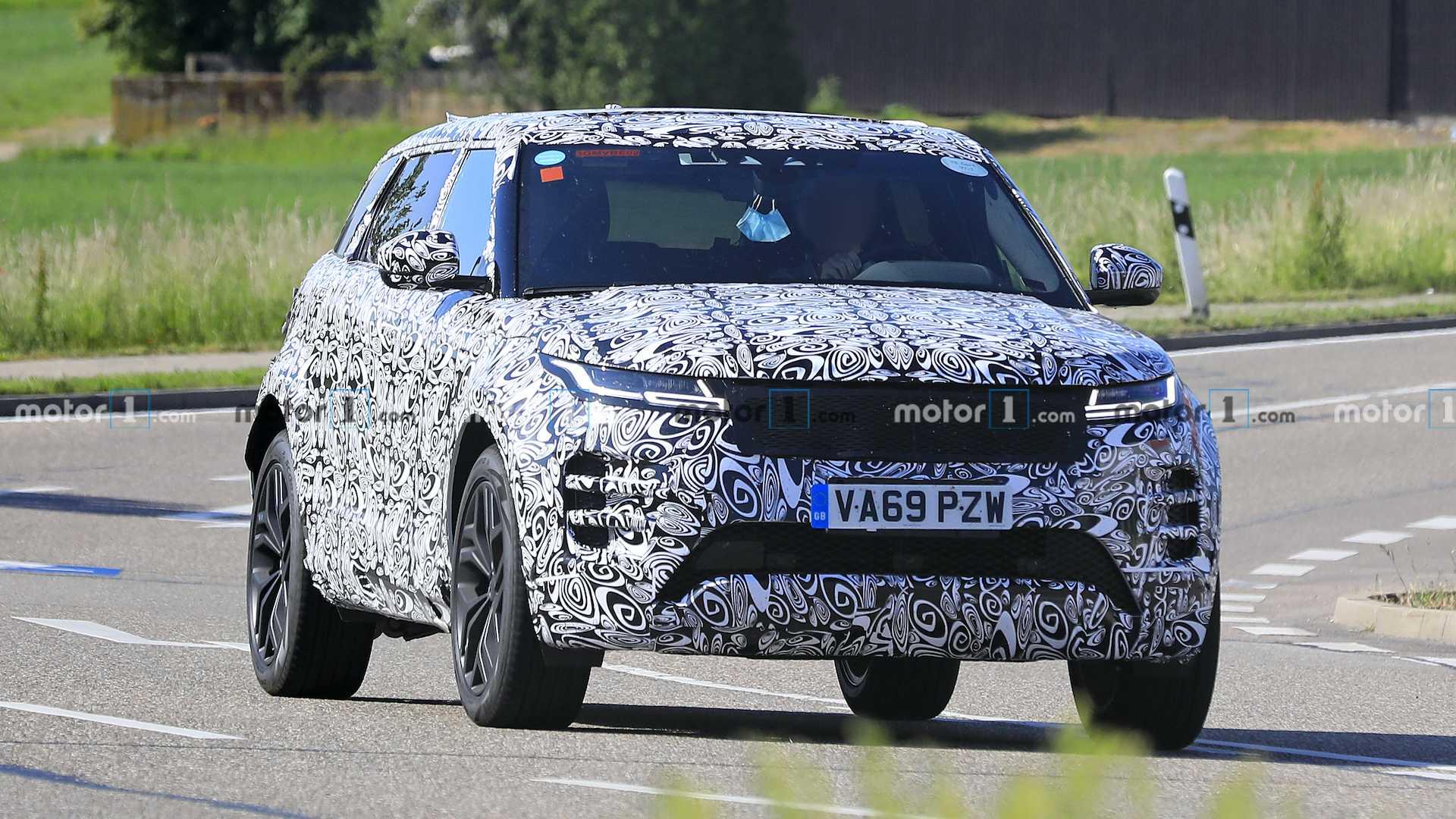 Range Rover готовит семиместную версию Evoque