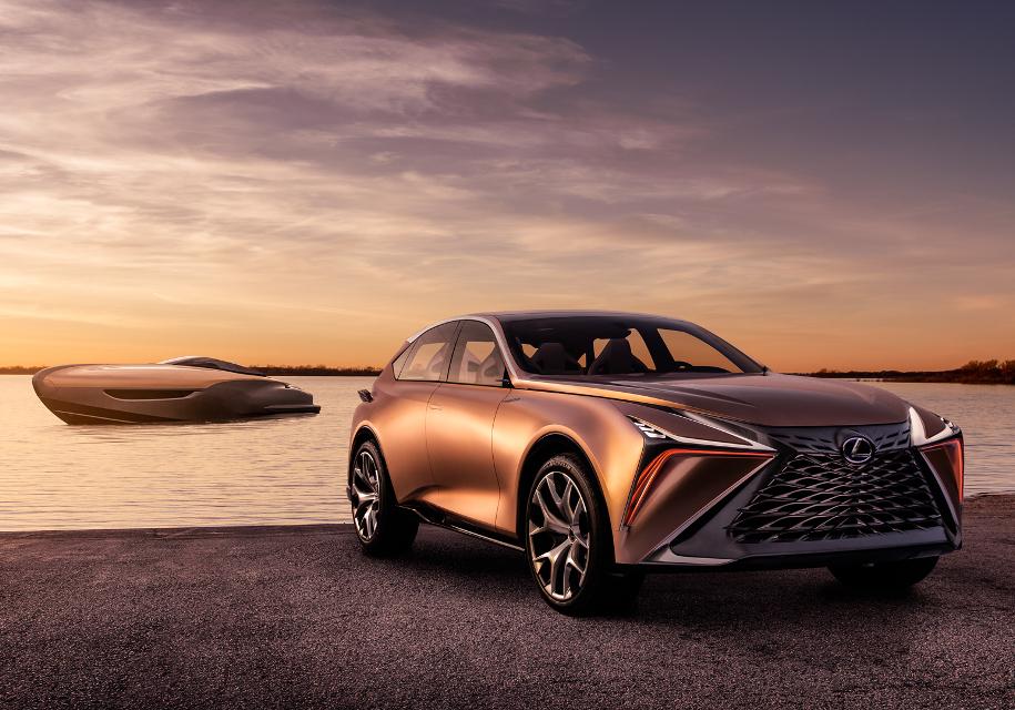 Toyota будет выпускать яхты под маркой Lexus