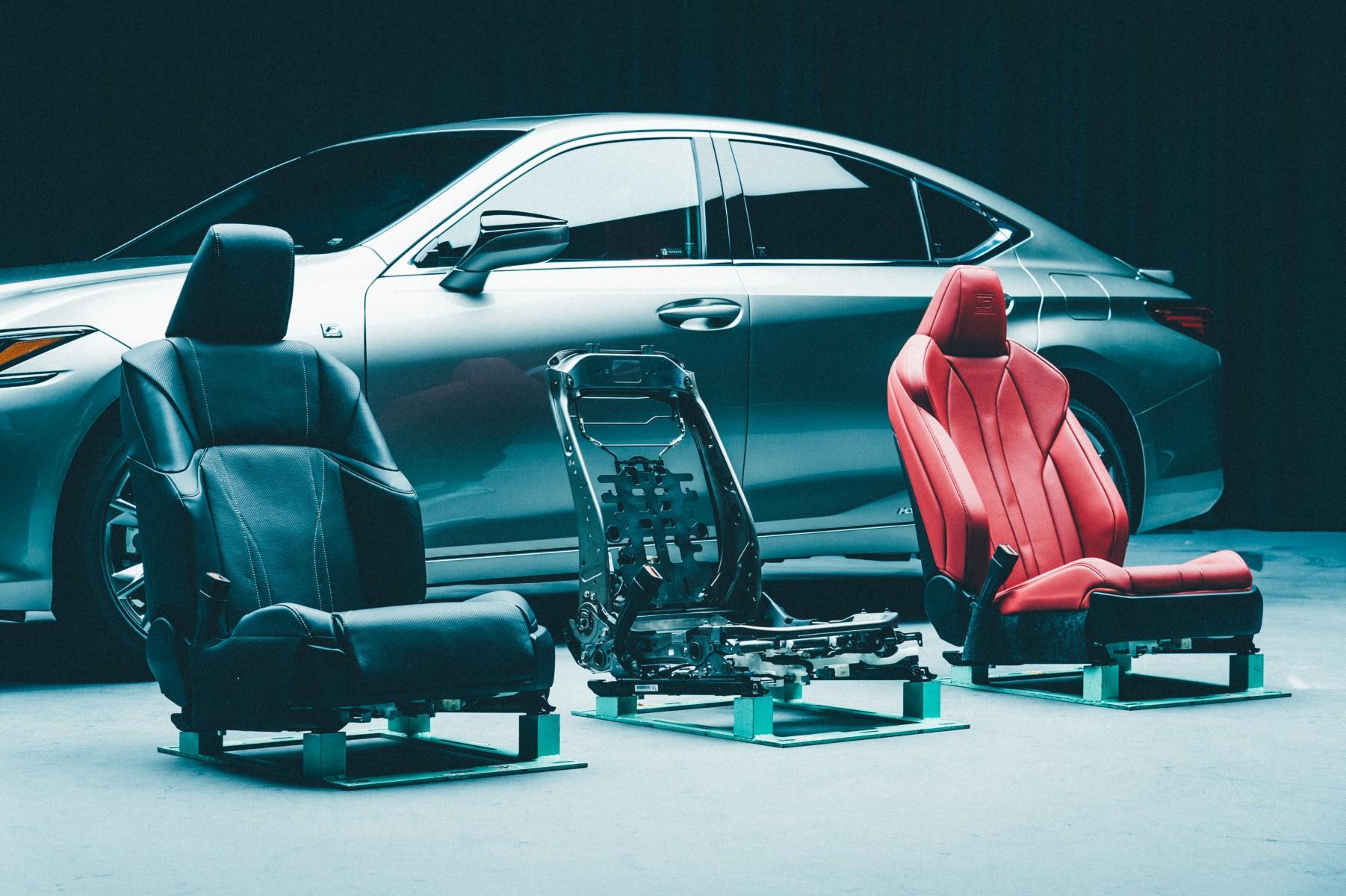 Разработка сидений нового Lexus ES заняла три года