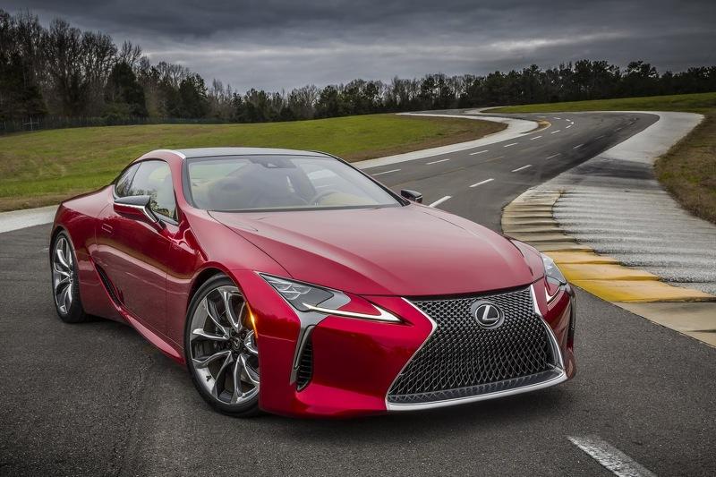 Купе LC 500 стало новым спортивным флагманом Lexus