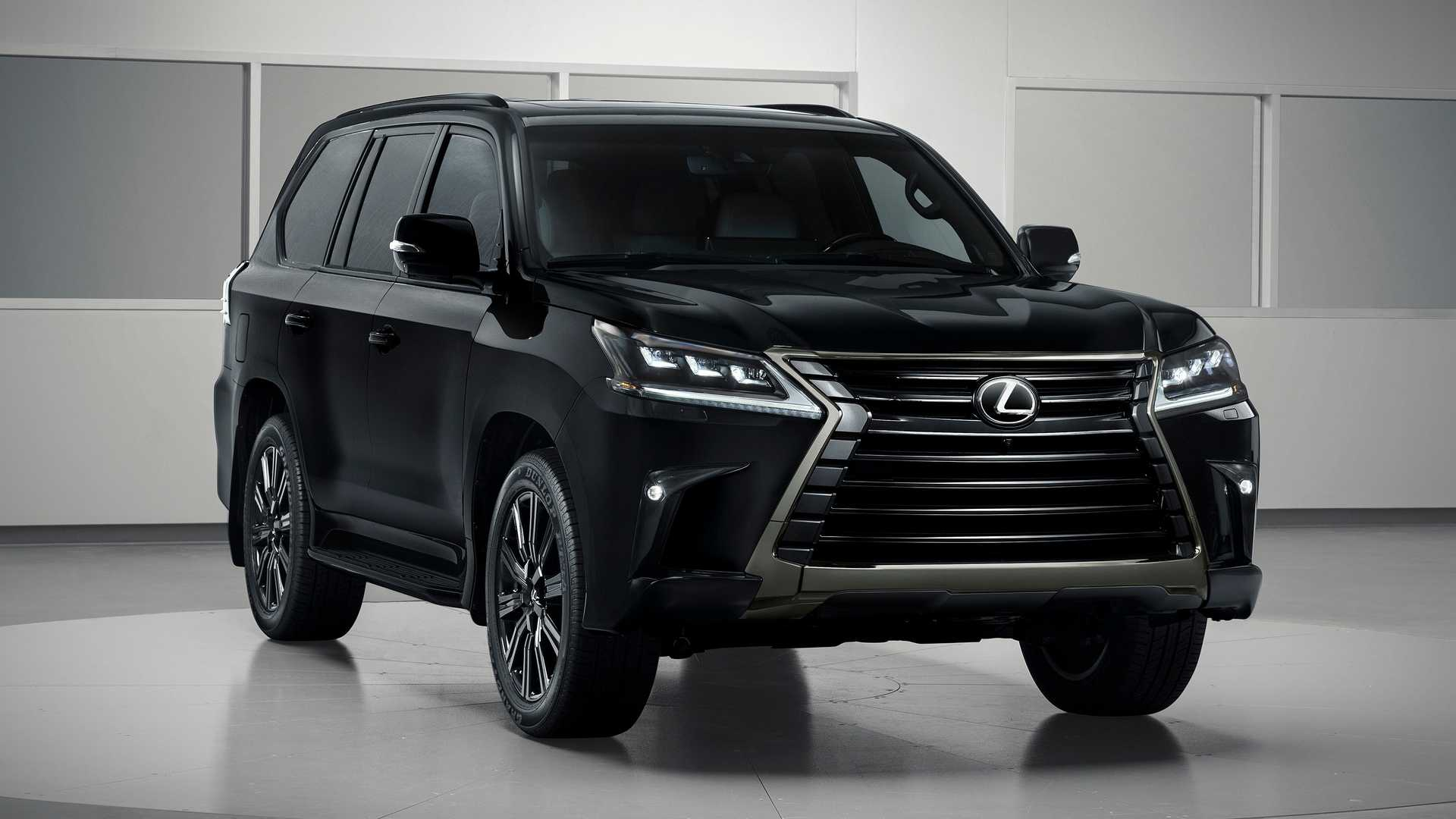 Внедорожнику Lexus LX добавили «очень черную» версию Inspiration Series