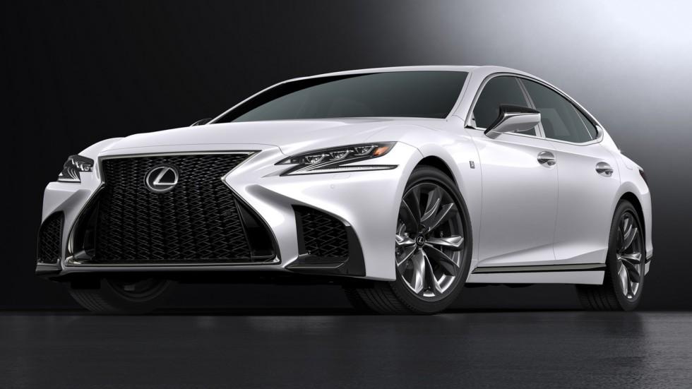 Lexus представит в Нью Йорке LS 500 F Sport
