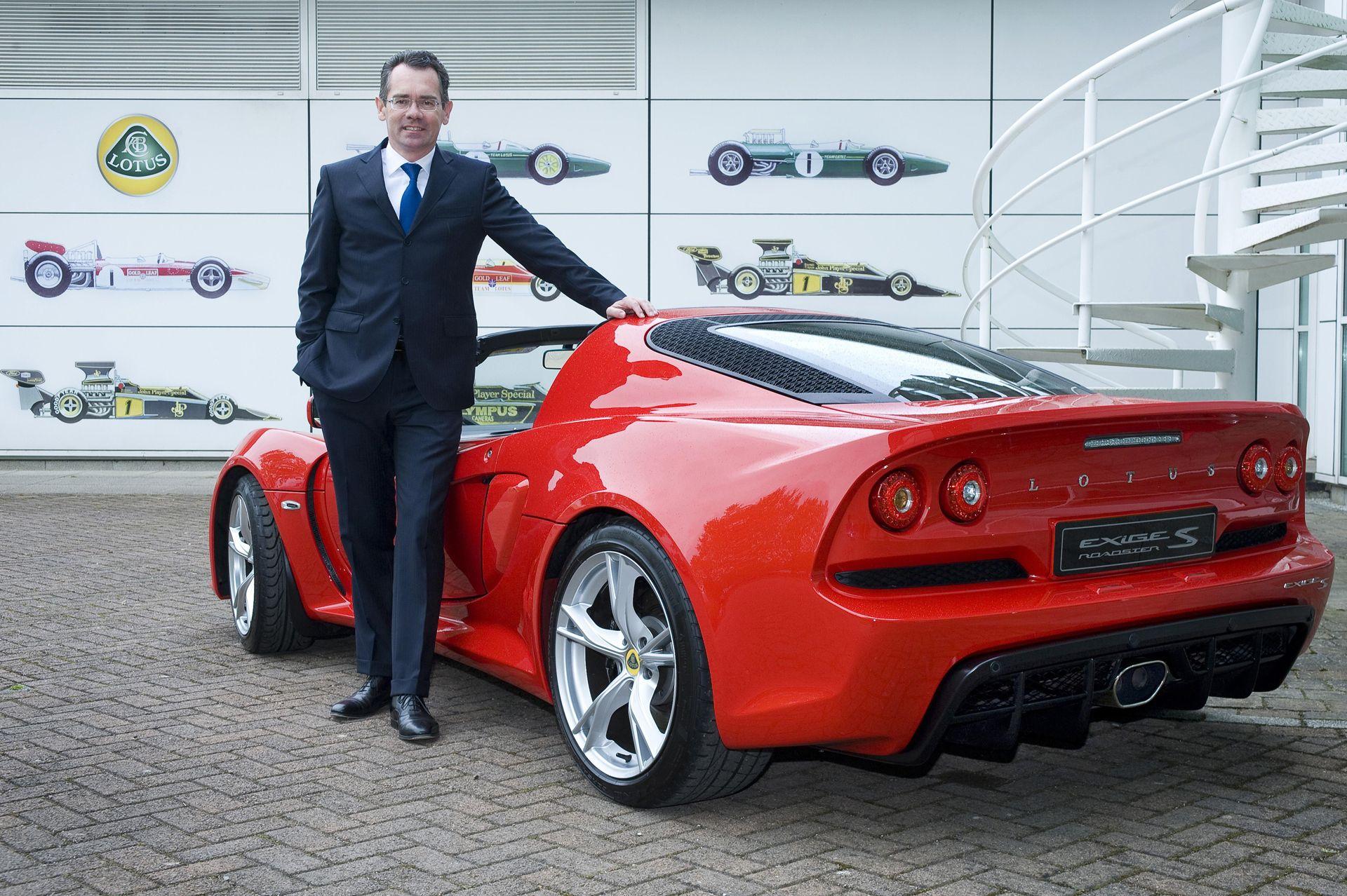 У британской марки Lotus новый шеф