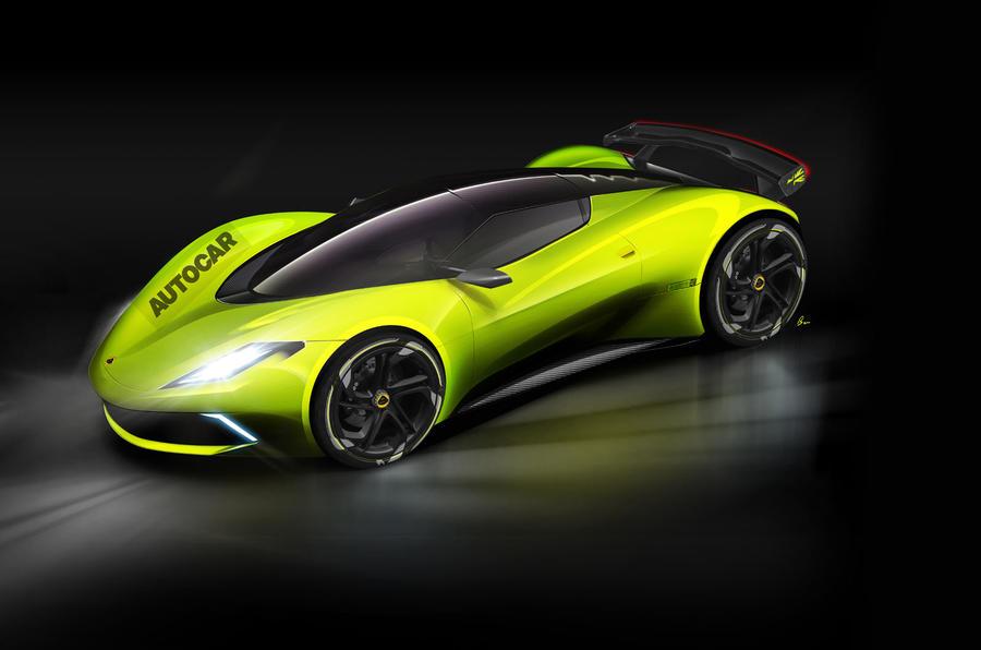 Lotus выпустит электрический гиперкар за 2.2 млн евро