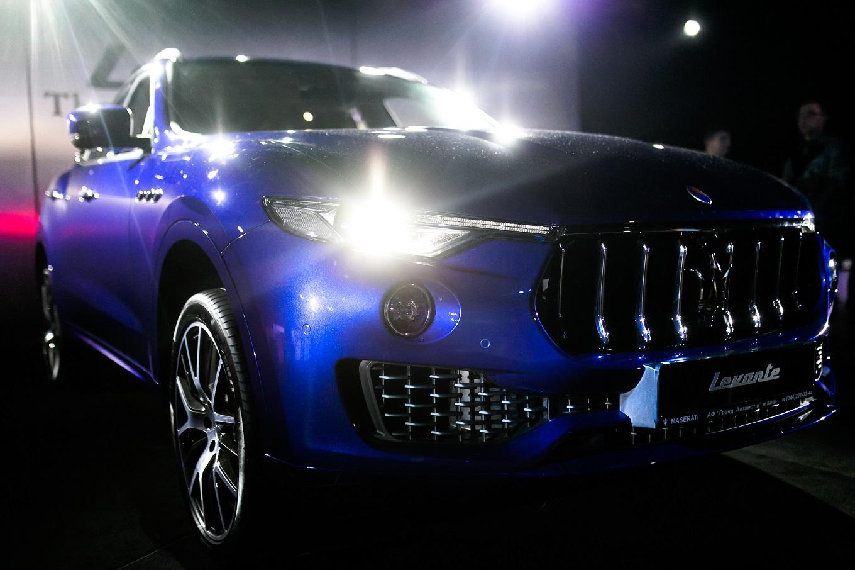 Новый Maserati Levante официально представлен в Украине