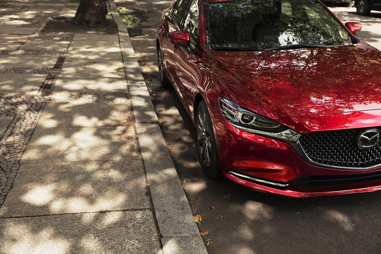 На автомобильном салоне вЛос-Анджелесе представят новый тип Mazda6