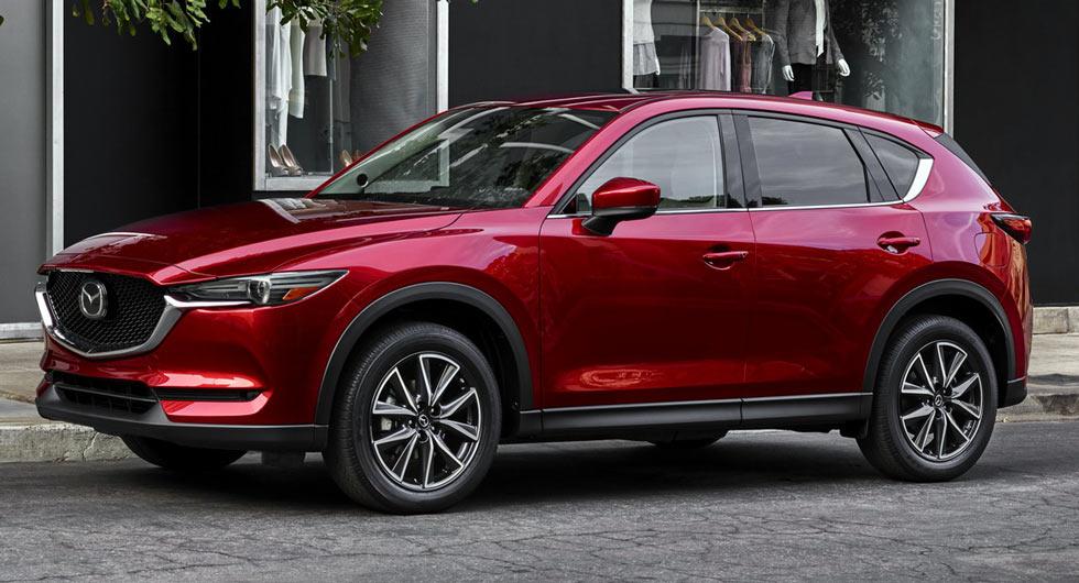 Новое поколение Mazda CX-5 уже в Украине