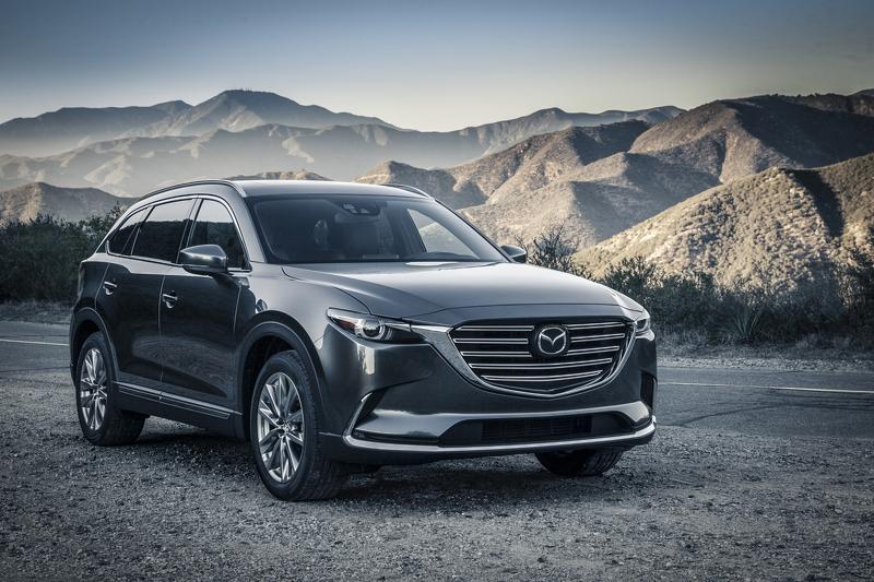 Mazda CX-9 попадёт в Европу с дизельным мотором