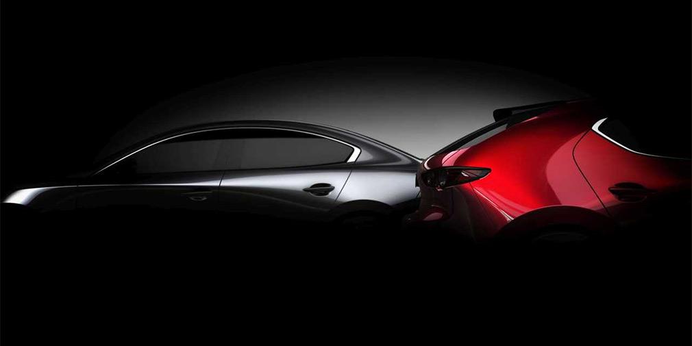 Mazda объявила дату презентации новой «тройки»
