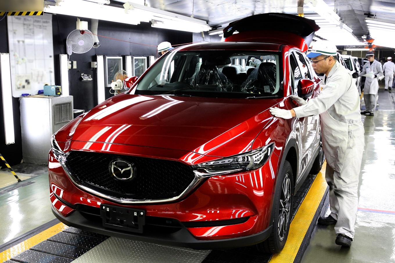 Новый Mazda CX-5 встал на конвейер в Хиросиме