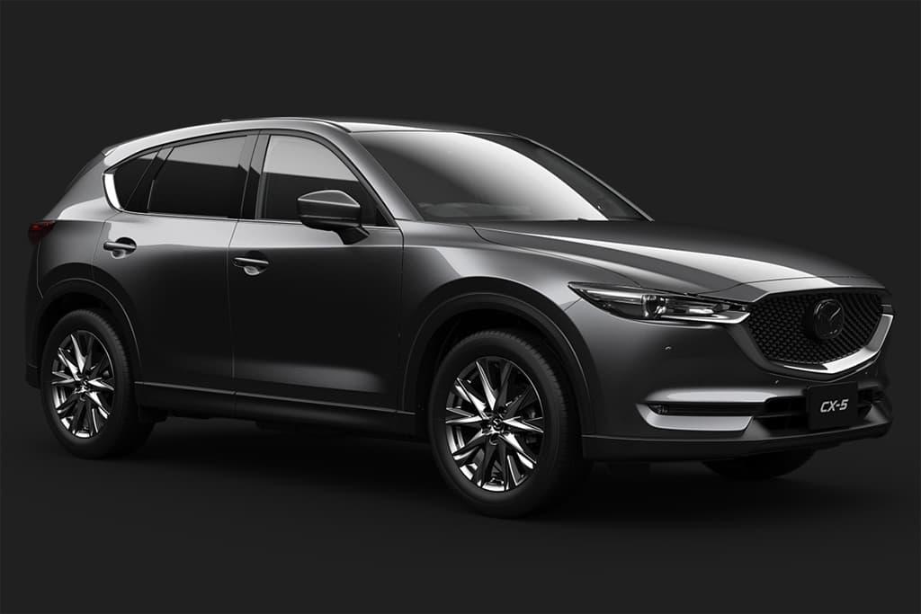 Обновленный кроссовер Mazda CX-5 получил турбомотор