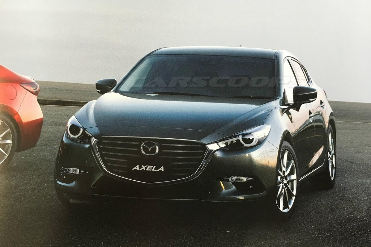 Обновлённая Mazda3 рассекречена
