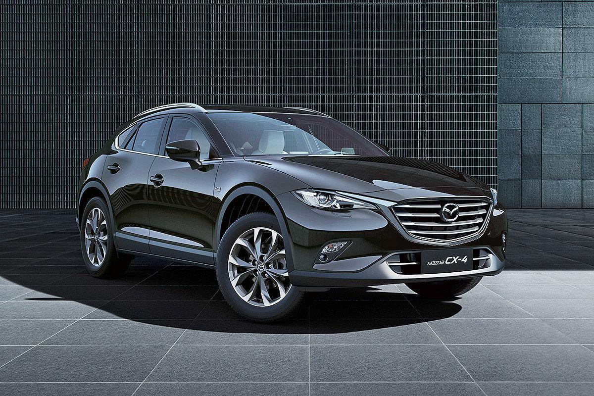 Китайцам показали кроссовер Mazda CX-4